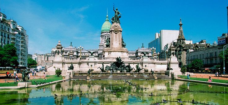 Buenos Aires, nicknamed the Paris of the South. #architecture: Bucket List, Favorite Places, Square, Buenos Aires Argentina, South America, Congressional, Travel, Photo
