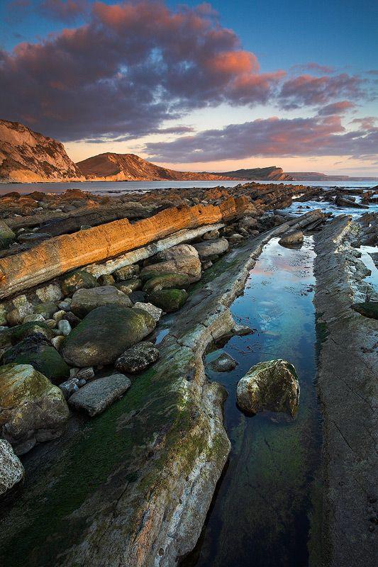 Mupe Bay, Dorset, England