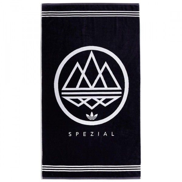 8264d149e73e6 Adidas Spezial Logo Towel (navy   night navy   white)Soft velour  fabricSpezial Mod Trefoil logo on front and back3-Stripes on sideOversize  for greater ...