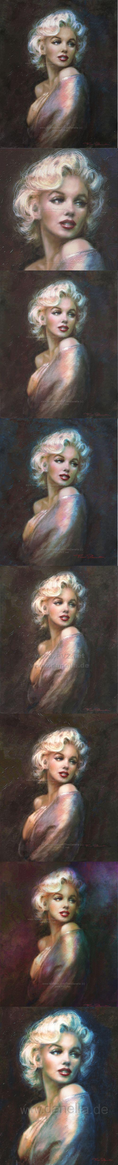 Theo Danella´s MARILYN in ART: www.facebook.com/TheoDanella   ✿   ART Shops:    http://www.pvz.net  www.redbubble.com/people/theodanella ✿