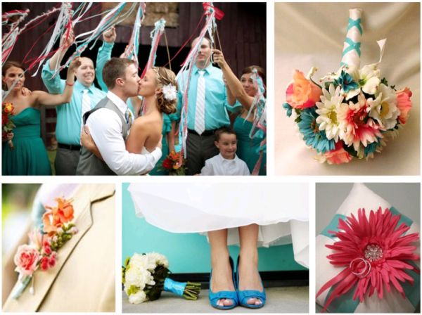 Coral And Turquoise Wedding: 1000+ Ideas About Turquoise Coral Weddings On Pinterest