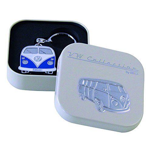 Schlüsselanhänger VW Bulli blau