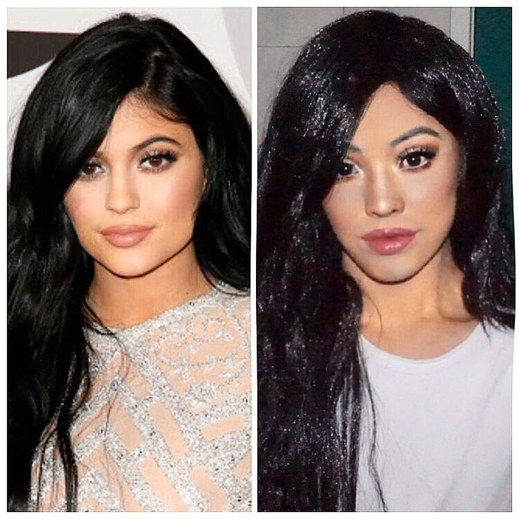 Kylie Jenner boy to girl makeup transformation