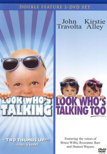 Look Who's Talking/Look Who's Talking Too [2 Discs] [DVD]