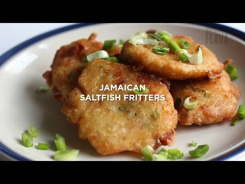 The BEST Jamaican Saltfish Fritters MADE EASY! - YouTube