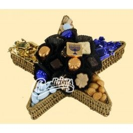 Be a star when you bring home this kosher chocolate creation for Hanukkah!