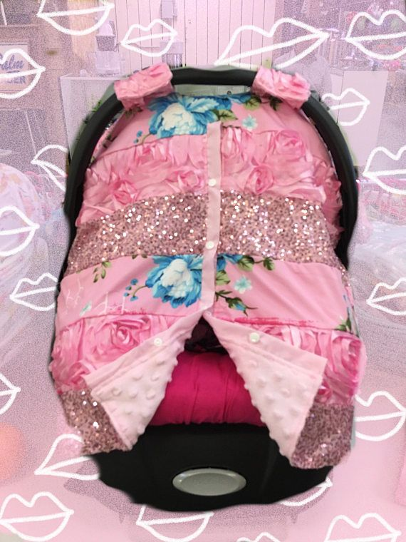 Baby Car Seat Canopy Infant Cover Blanket Fit All Girl Gorgeous Stylish Ad Affiliate Stylingaccessor