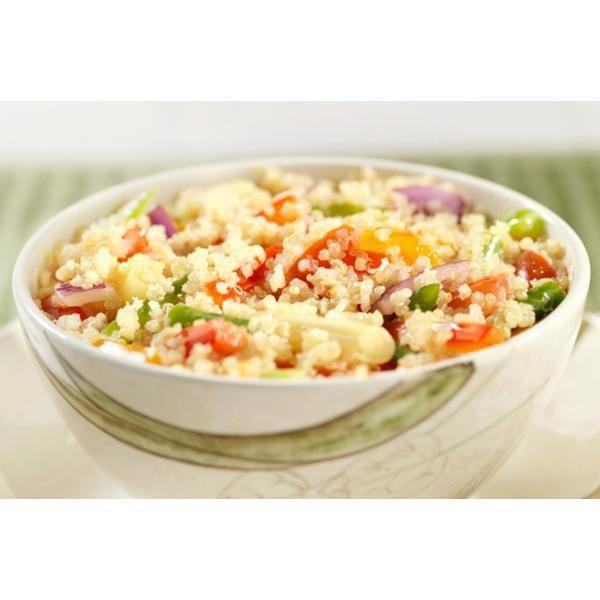 Ensalada de quinoa vegetales