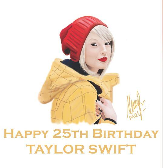 happy 25th birthday, Taylor!
