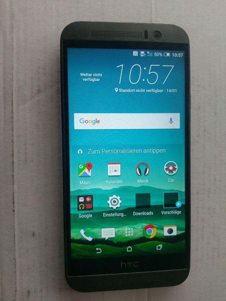 HTC One M9 (Grau) Grey 32 GB - ohne Simlock Smartphone ohne Branding Android