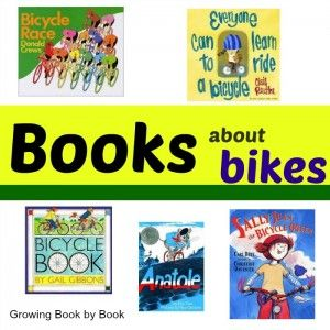 Books About Bikes (Poppins Book Nook) - Growing Book by Book