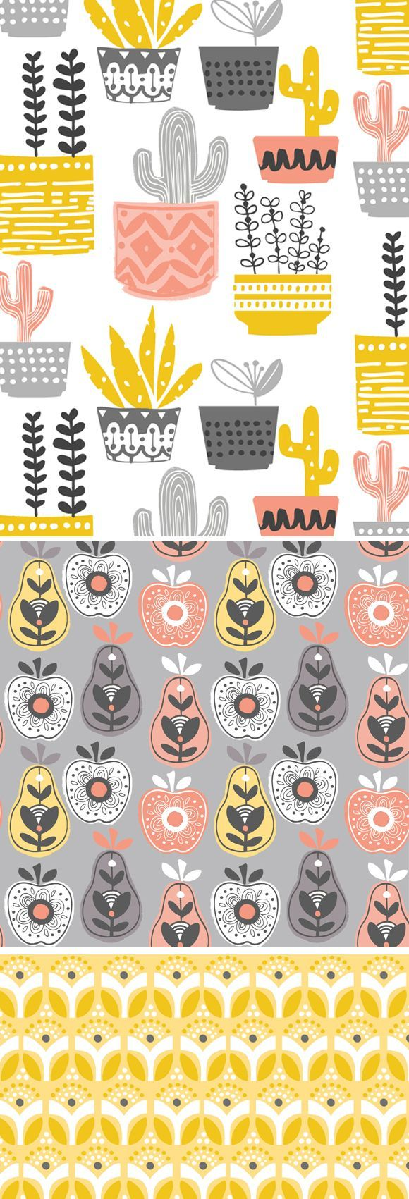 Wendy Kendall Designs Freelance Surface Pattern Designer Cactus