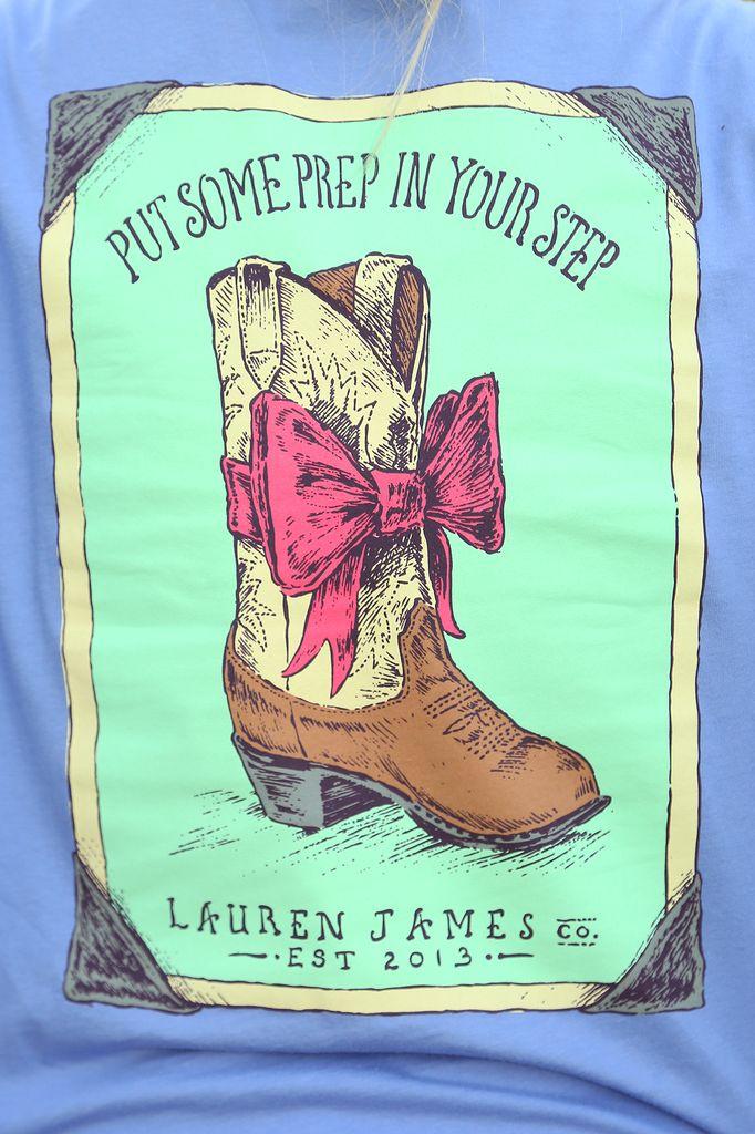 Lauren James: Prep In Your Step Shirt: Periwinkle – Hope's #shophopes