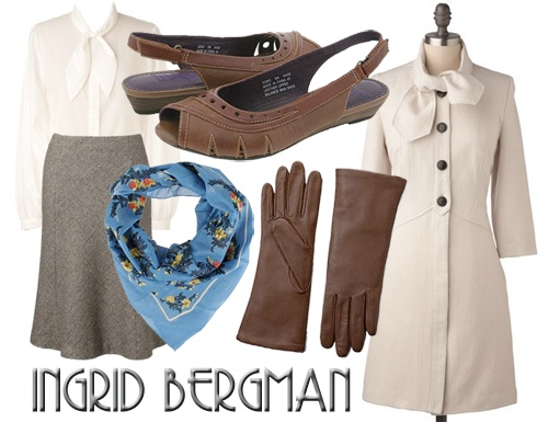 Ingrid Bergman (Casablanca) inspired outfit...love it!  sc 1 st  Pinterest & 60 best Costumes images on Pinterest | Costume ideas Halloween prop ...