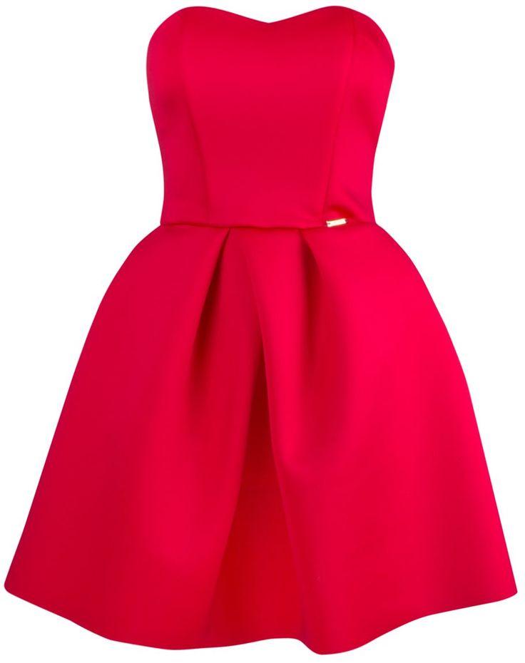 Sukienka Nadia czerwona, limoda.pl