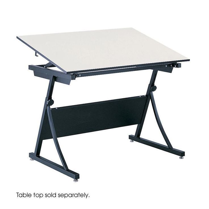Safco 3957 PlanMaster Height Adjustable Drafting Table
