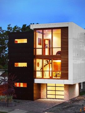Modern House Facades Design Ideas, Pictures, Remodel, and Decor - page 5