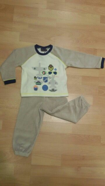 Pijama terciopelo niño