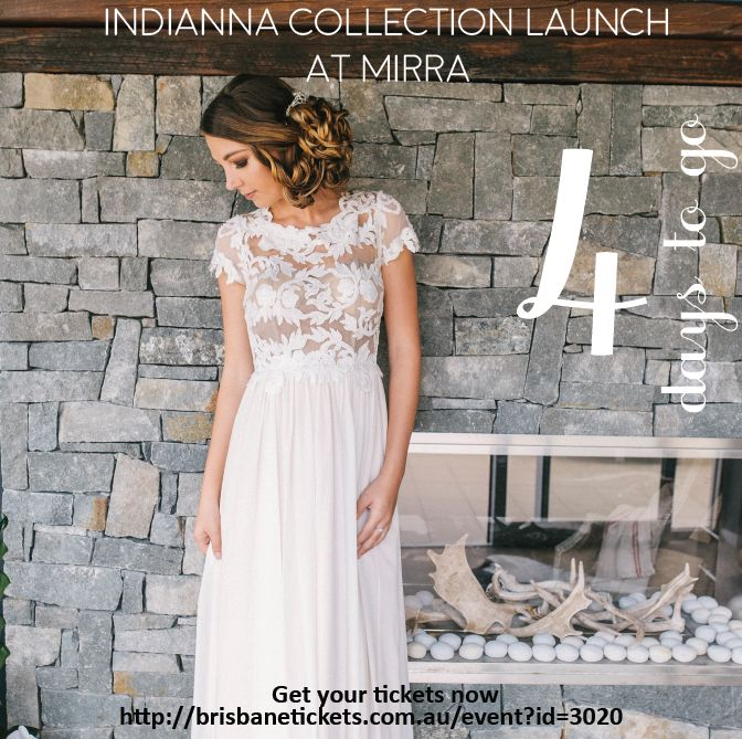 Just 4 days to go until our Indianna Collection Launch!