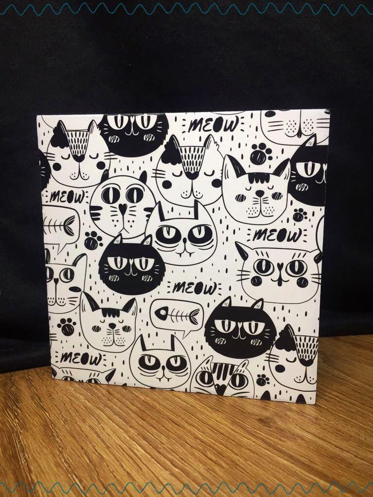 Para los amantes a los gatos  #galajumastore #mugpersonalizados #cuadrospersonalizados Personaliza y regala para navidad. Facebook.com/galajumastore