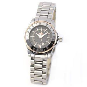 Vivienne Westwood(ヴィヴィアンウエストウッド) VV088GYSL ハイポリッシュ仕上げの耀き 上品な大人カジュアル腕時計 - 拡大画像  #レディース時計 #レディース時計プレゼント #レディース時計人気20代 #レディース財布 #レディース時計ブランド #レディース時計人気