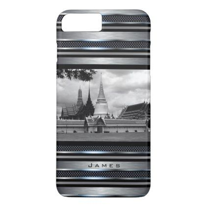 #Vintage Thailand Bangkok Wat Phra Kaew iPhone 7 Plus Case - #travel #trip #journey #tour #voyage #vacationtrip #vaction #traveling #travelling #gifts #giftideas #idea