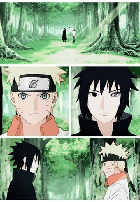 naruto shippuden final anime chapter 479 . Naruto / Sasuke (final del manga)