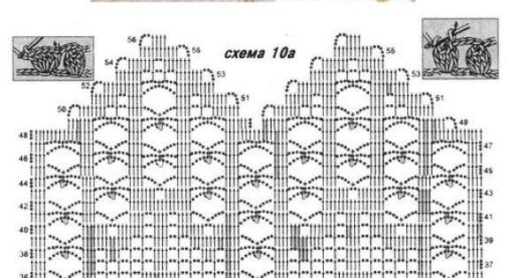 Crochet vest chart pattern   kleding - vest   Pinterest   Jumpers, Patterns and Inspiration