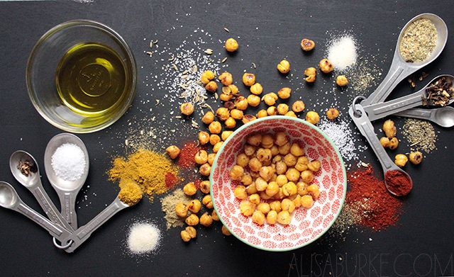 alisaburke: roasted chick peas