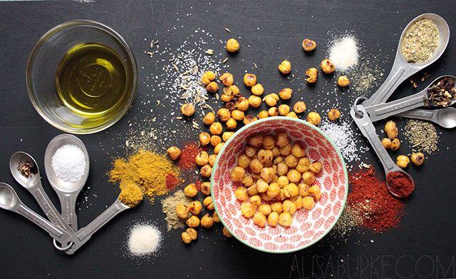 alisaburke: roasted chick peas