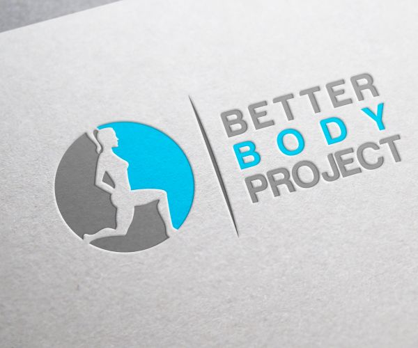 Better Body Project = 49 Creative Fitness and Gym Logo Design Inspirations