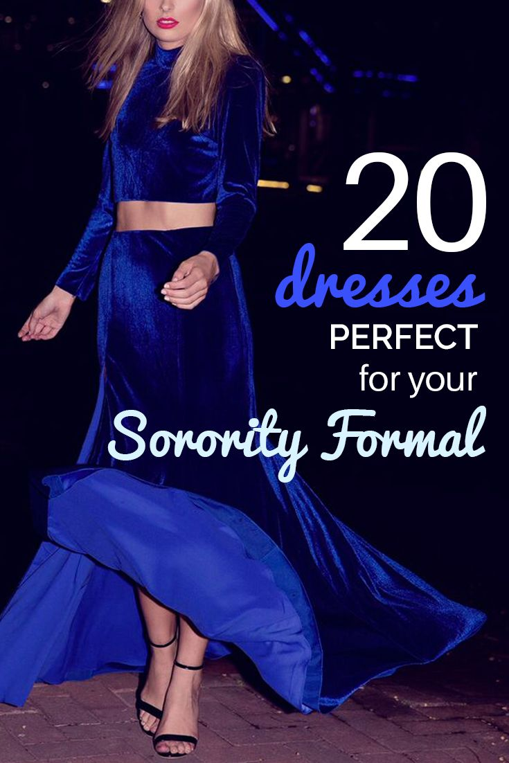 20 Dresses Perfect for Your Sorority Formal