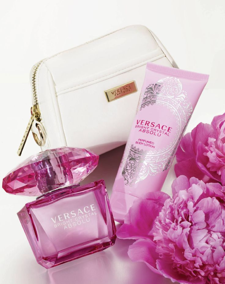 The choice is clear, Versace Bright Crystal Absolu