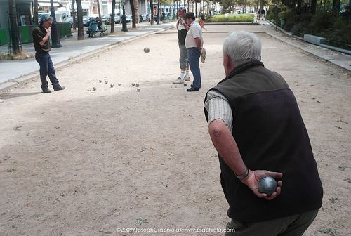 a game of boule