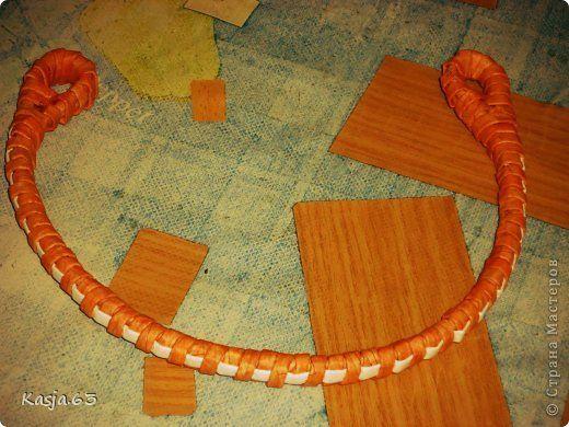 Поделка изделие Плетение Повторюшка на заказ с МК Трубочки бумажные фото 18