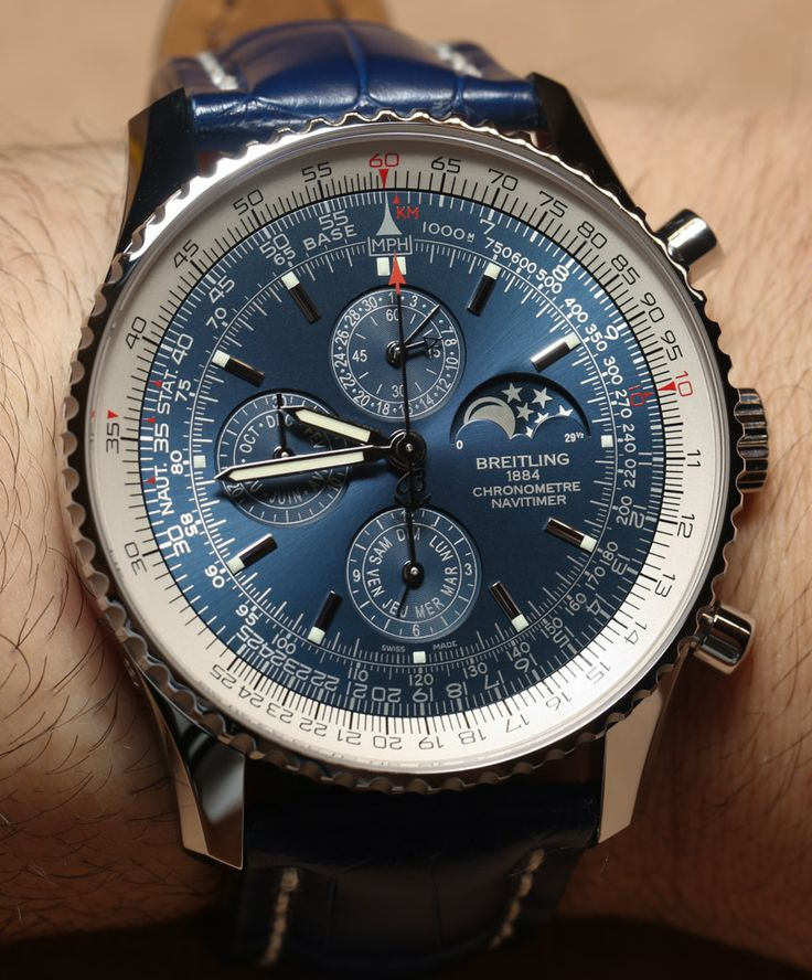 Breitling Navitimer 1461 Limited Edition Blue Watch Hands-On