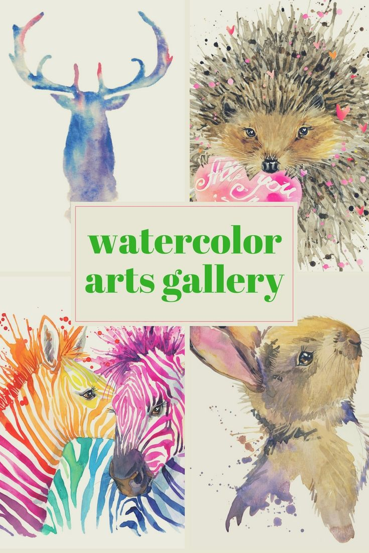 27 Best Watercolor Arts Selections Take Advantage Of Tricks And