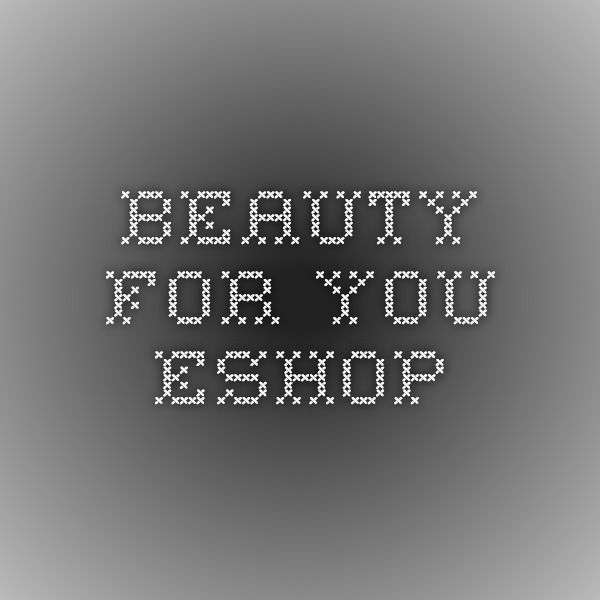 Beauty for you - Eshop