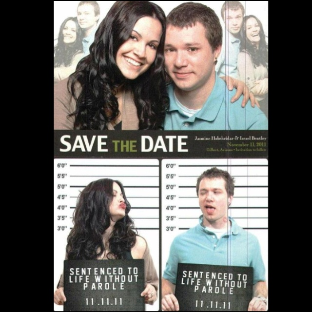 Funny Save The Date Card Idea I Love Weddings Pinterest - 35 awkward engagement photos ever