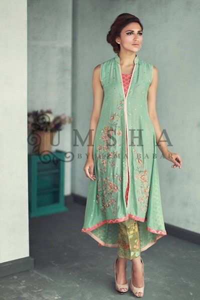 Umsha By Uzma Babar Eid Dresses 2015 for Girls