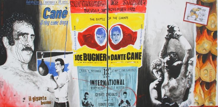 dedicato a Dante Canè, il piu' grande pugile bolognese
