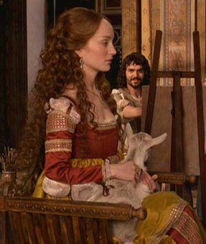 "Lotte Verbeek from the episode ""The Assassin"". | The Borgias | Series Costume Design by Gabriella Pescucci"