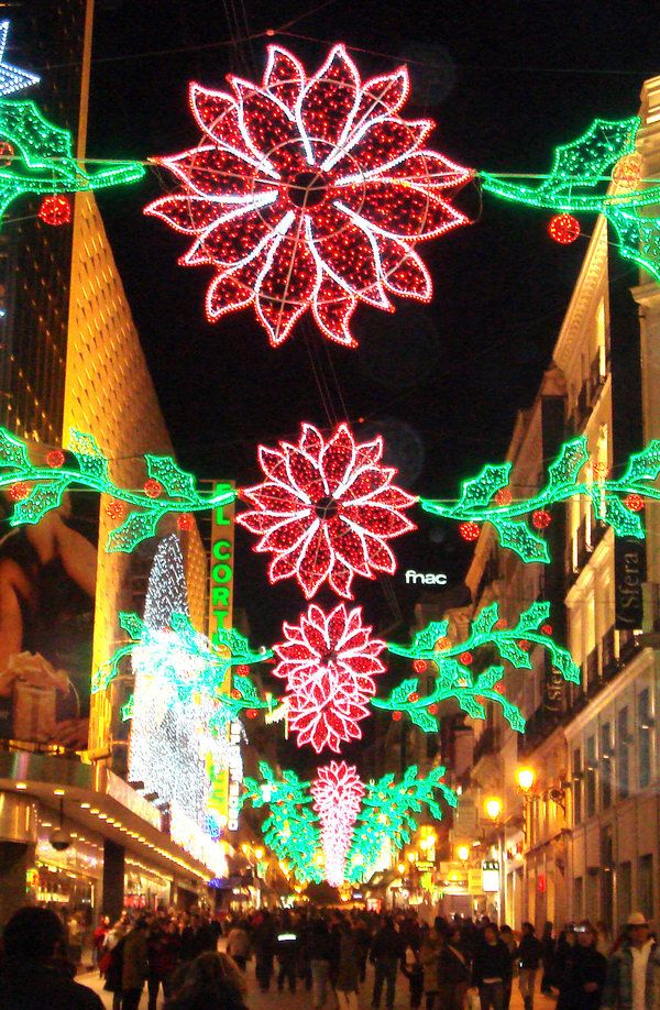 Christmas in Madrid! American Baby Boomers love Spain!this is definitely one of their top holiday destinations!