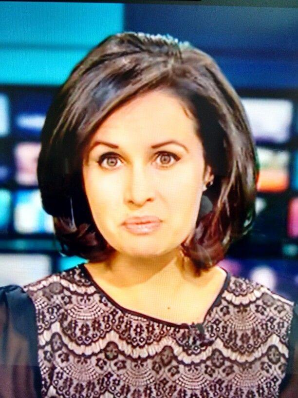 Nina Hossain Newsreader Gorgeous Hair Style Shoulder Length Hair Pinterest Hair Style And