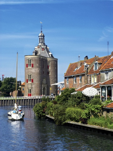 Drommedaris Tower, Enkhuizen, Netherlands