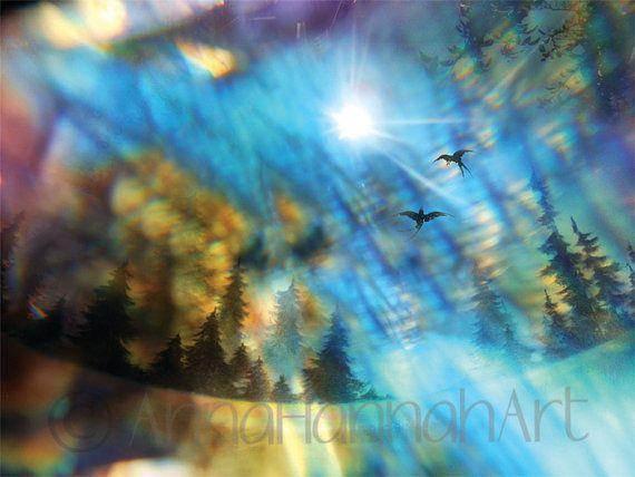 """Across the Horizon"" from the series ""CrystalArt"""