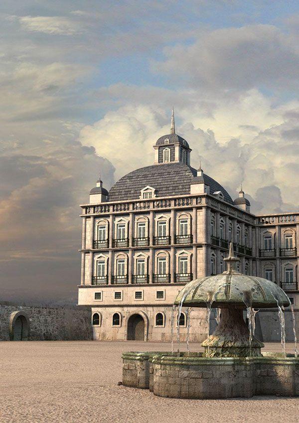 Lisbon before the 1755 earthquake on Behance