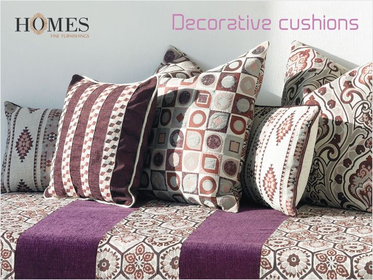 Decorate your #Home with #Abstract and #Classy designed #Cushions from #HomesFurnishings. Explore more on www.homesfurnishings.com #HomeFabrics #Cushions #Furnishings #FineFabric #SaturdaySwag