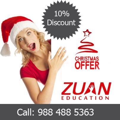 10% offer for all courses by Zuan Education