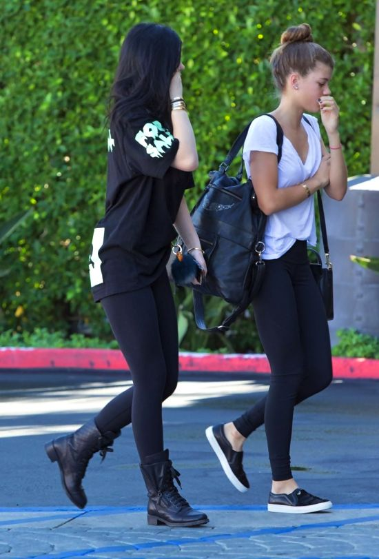 sofia richie and jenner sister